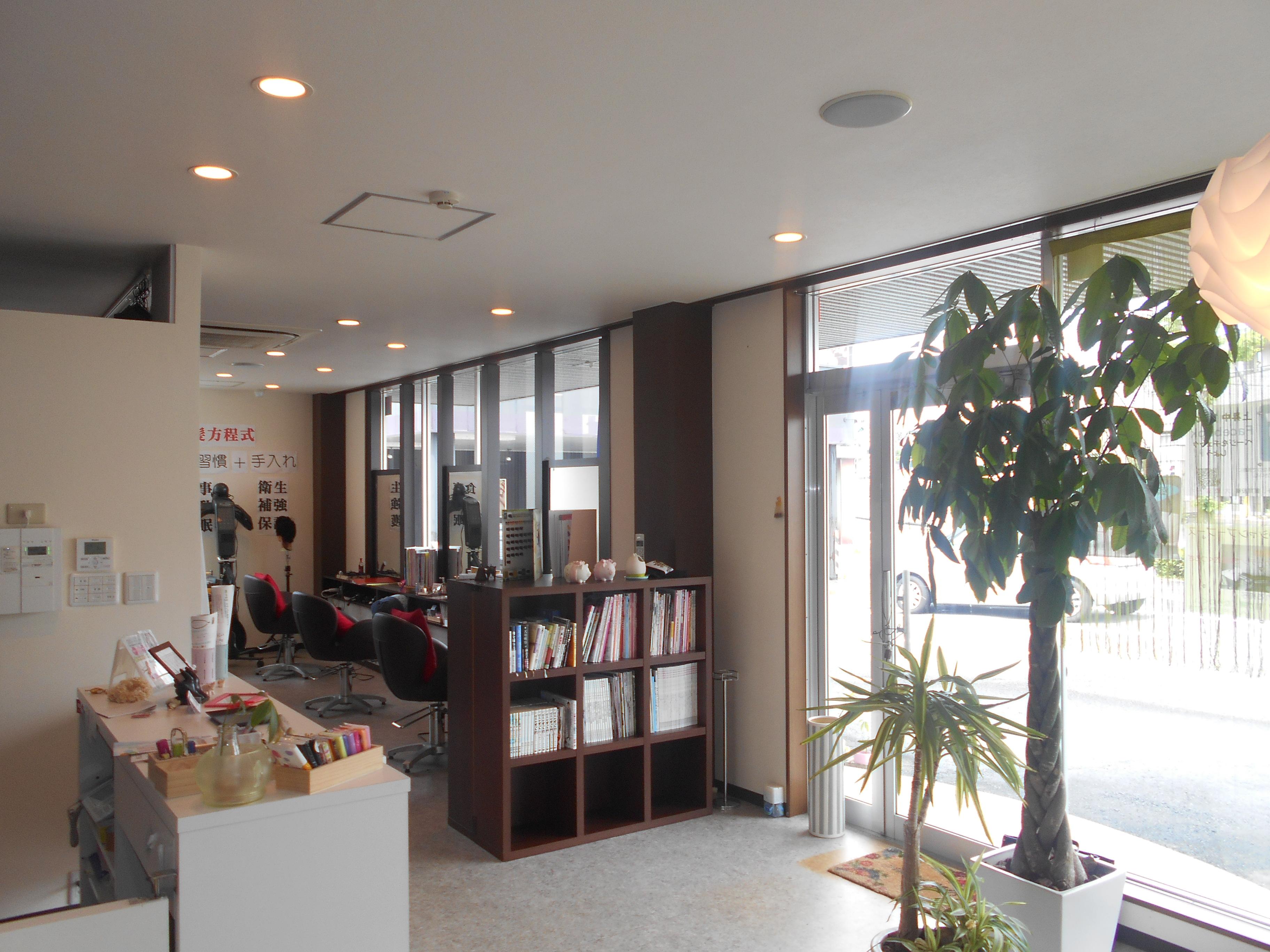 浜松市 髪癒い屋上昇中↑↑様 美容室